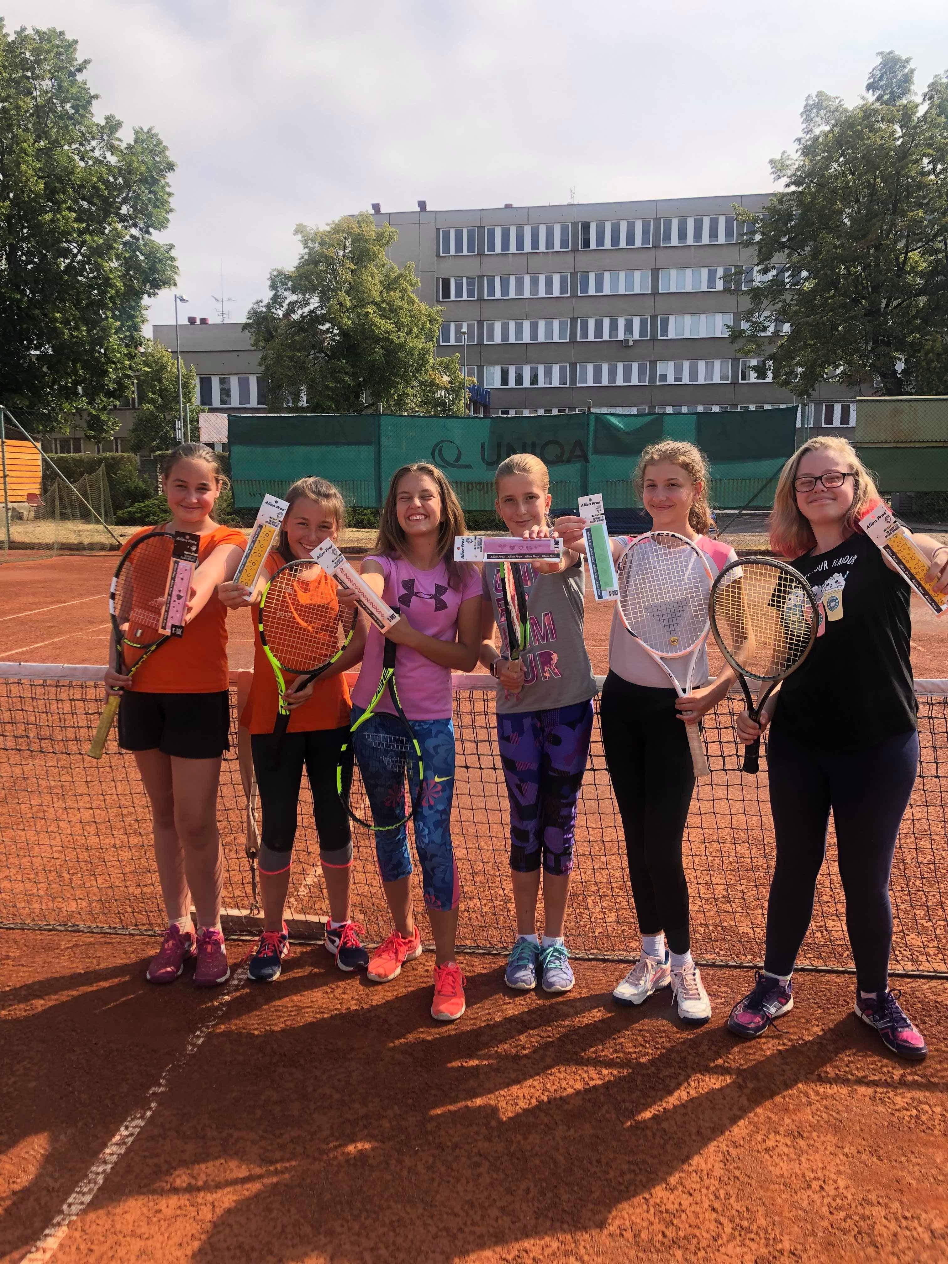 Podporujeme dětské tenisové kempy v Roudnici nad Labem